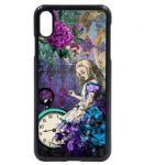 Vintage Retro Blues Licensed illustration Alice In Wonderland Icons Mobile Phone Case Fits iPhone